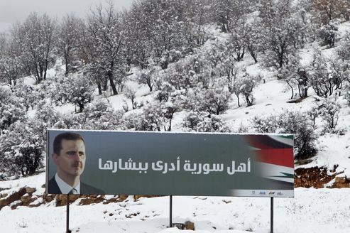 SYRIA-WEATHER-ARMY-STORM