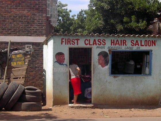 Instantané de coiffeur